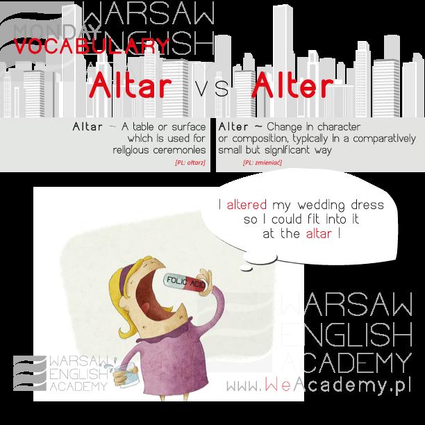 Altar or Alter