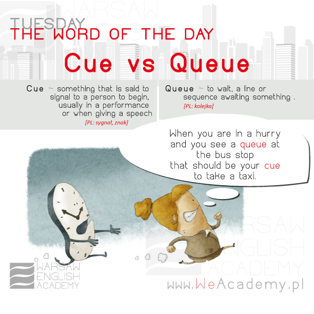 Cue vs Queue